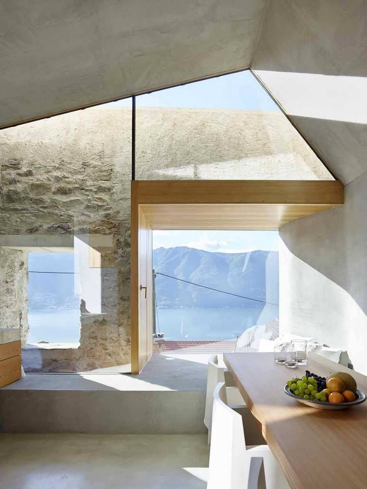 How to add more light to your life through Biophilia, Stone House Transformation in Scaiano / Wespi de Meuron Romeo architects, Image Credit - Hannes Henz