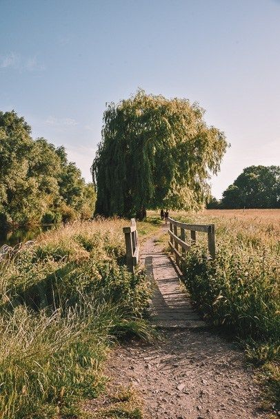 Going for Walks in Lockdown, Granchester Meadows Walk CambridgeImage Credit - © COUPLE TRAVEL THE WORLD