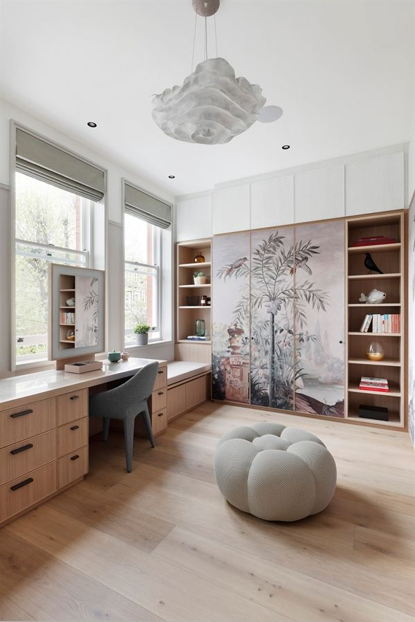 CHESTERFORD HOME, HAMPSTEAD - Designed by MWAI Image Credit : Alexander James