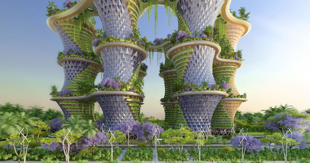 Vertical Farming: The Future of Agriculture? ( Image Credit -  2021 HoneyColony)