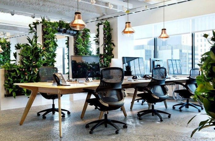 Gensler and Tom Dixon/Design Research Studio have developed and completed the design of a new office space for McCann in New York City. Image Credit - Officesnapshot