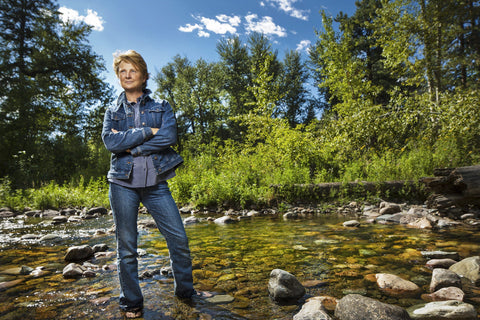Naturalist Janine Benyus has helped pioneer the field of biomimicry