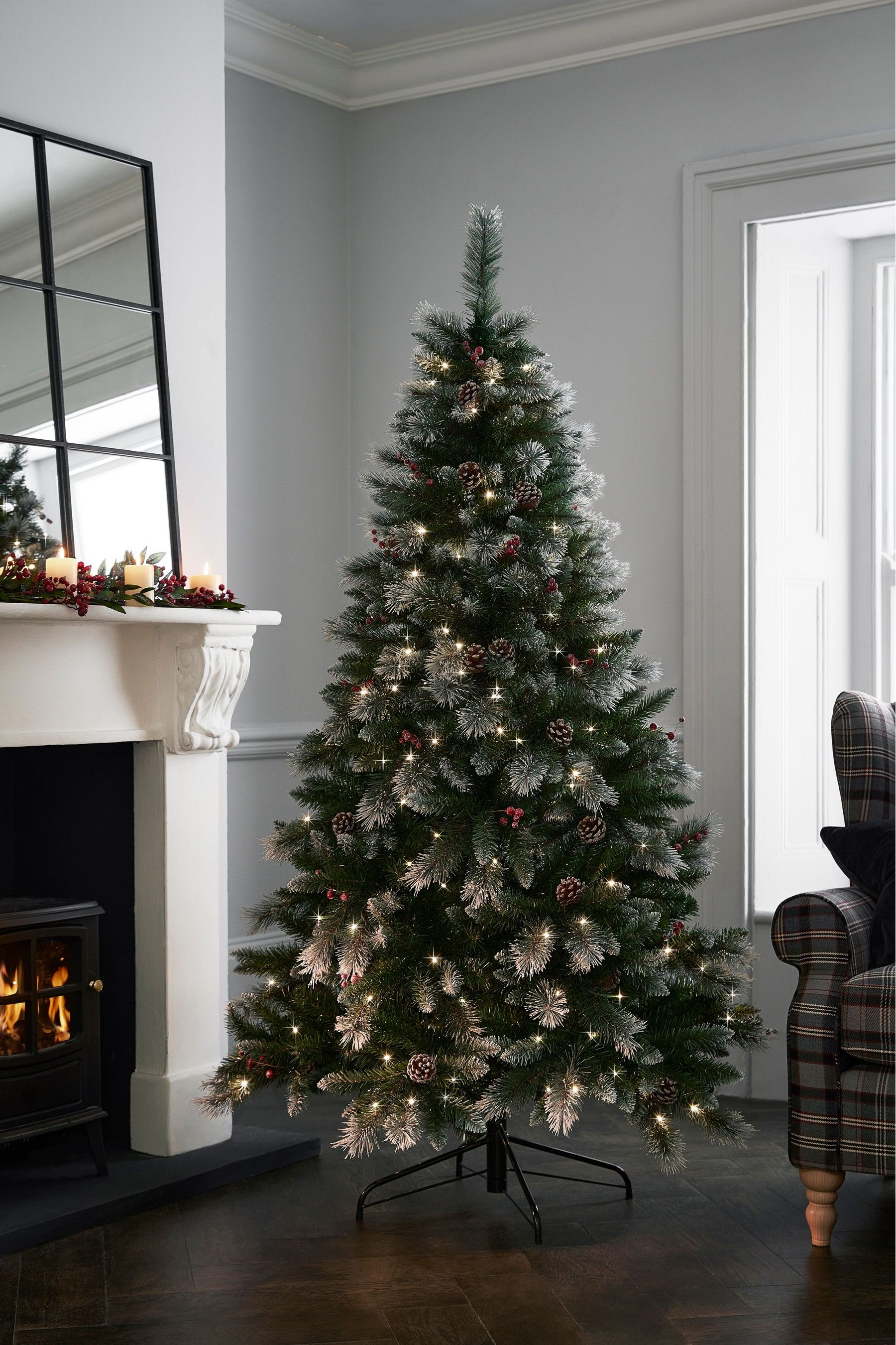6ft Berry Christmas Tree by Next