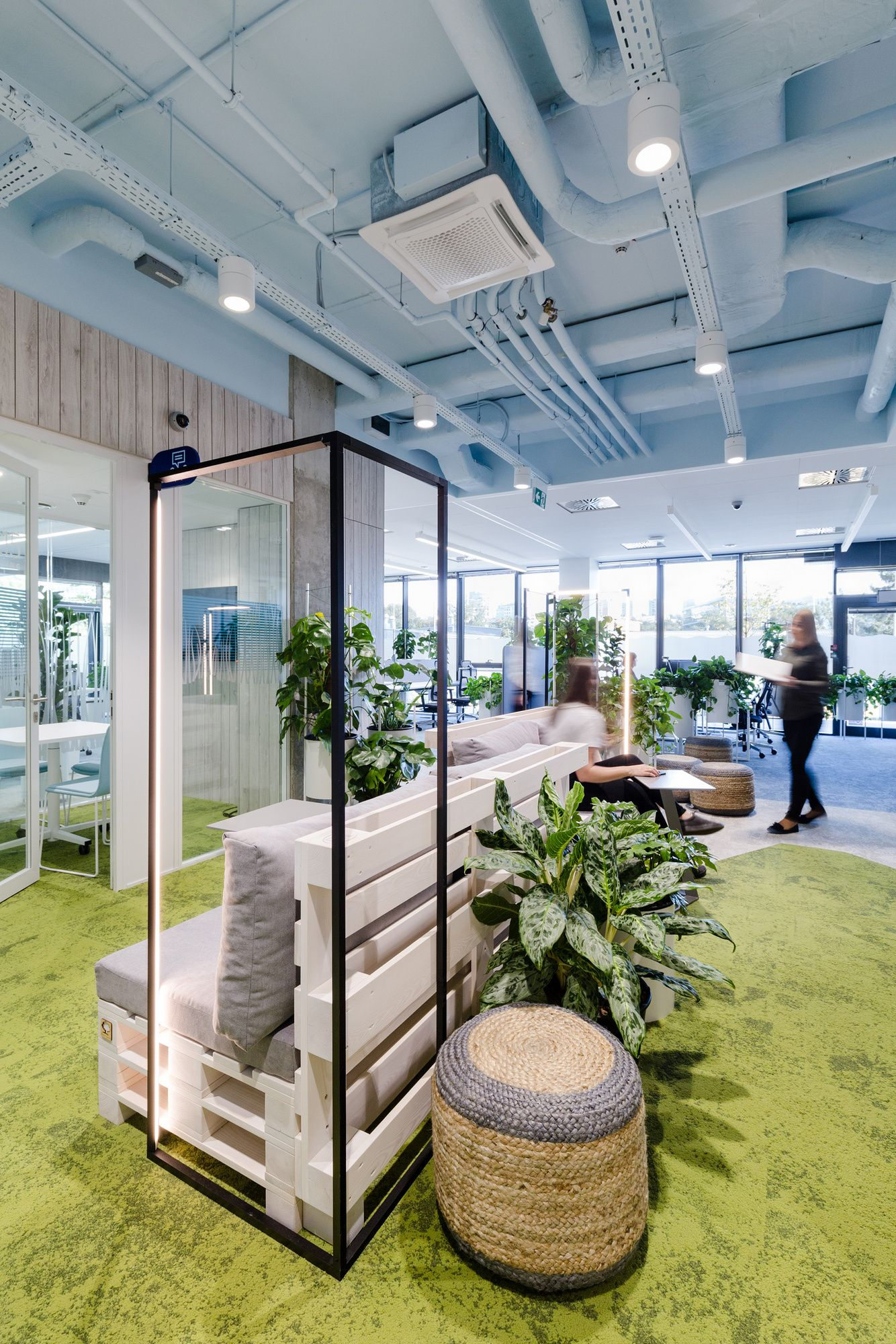 Nordea Greenest Offices – Gdynia, Designed by Workplace, Image Credit - Adam Grzesik
