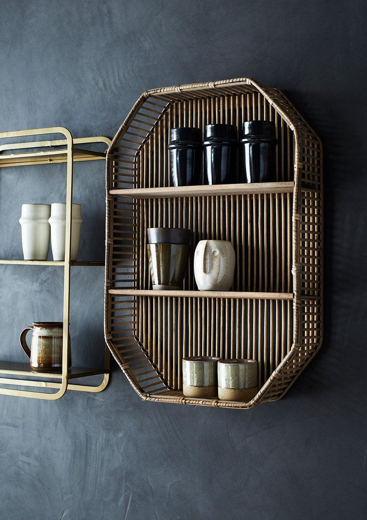 Octagon Bamboo Shelf, Image Credit - © 2021 Little Deer
