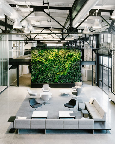 Perkins+Will have completed the office design for Prologis, a logistics real estate company located in San Francisco, California.