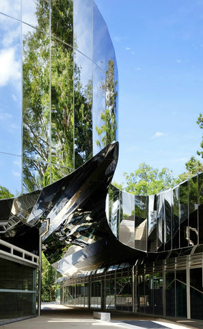 Cairns Botanic Gardens , Queensland, Australia. Designed by Charles Wright Architects (Image Credit)