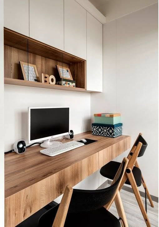 Home Office Zoning, Image Credit - C&S Interiors