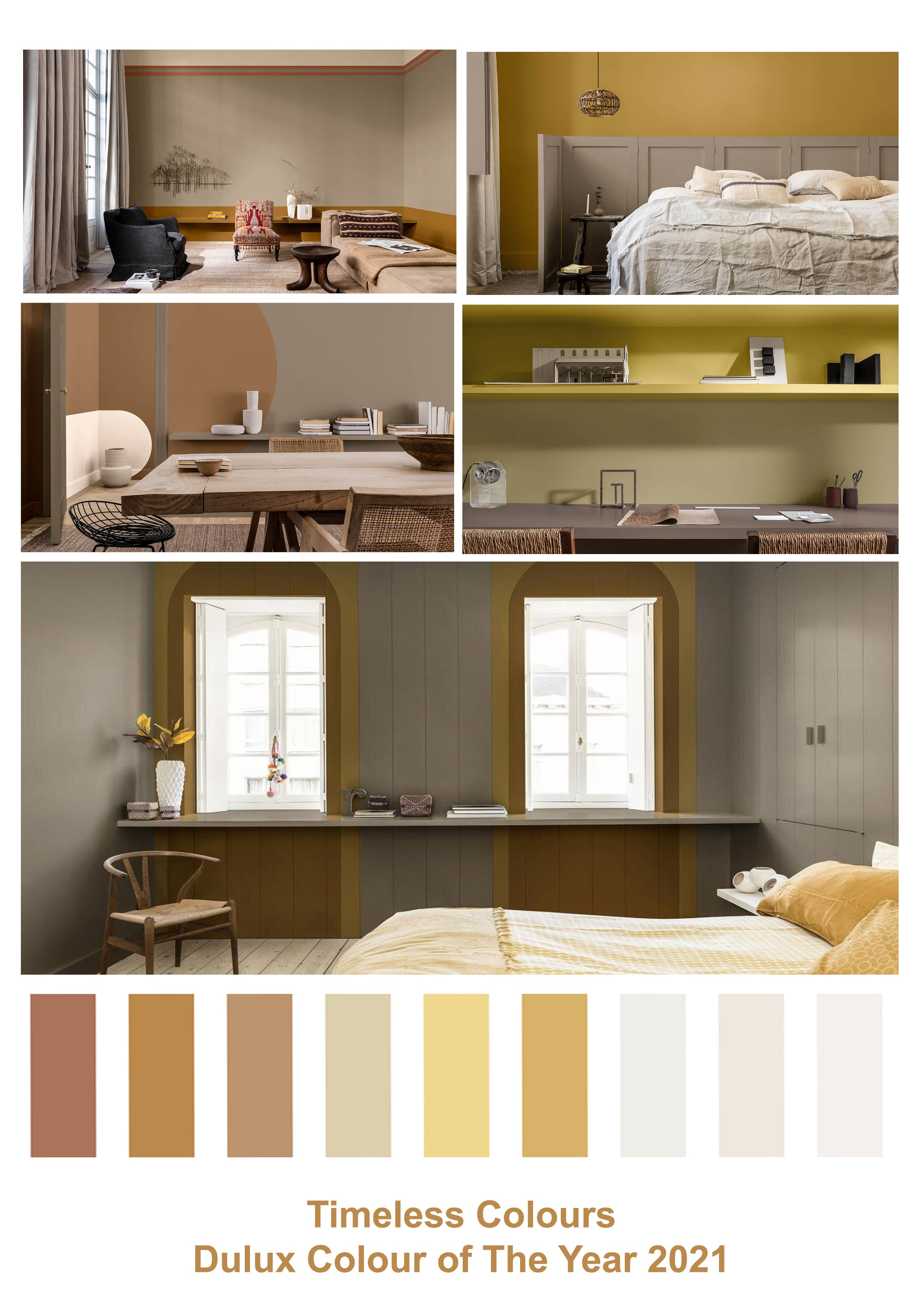 Timeless Colours, Dulux Colour of the Year 2021