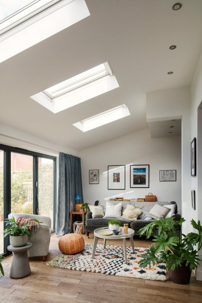 A light filled house extension | by SHnordic