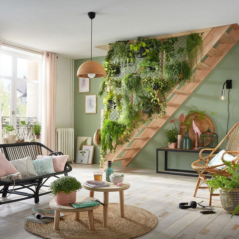 Staircase Living Wall