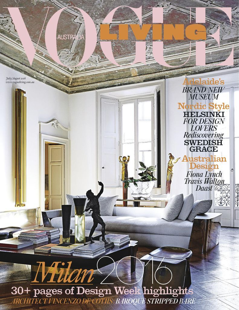 Magazine Research, Image Credit - Vogue Living