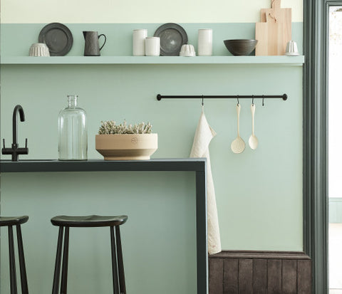 Little Greene - Blue Gray No.91
