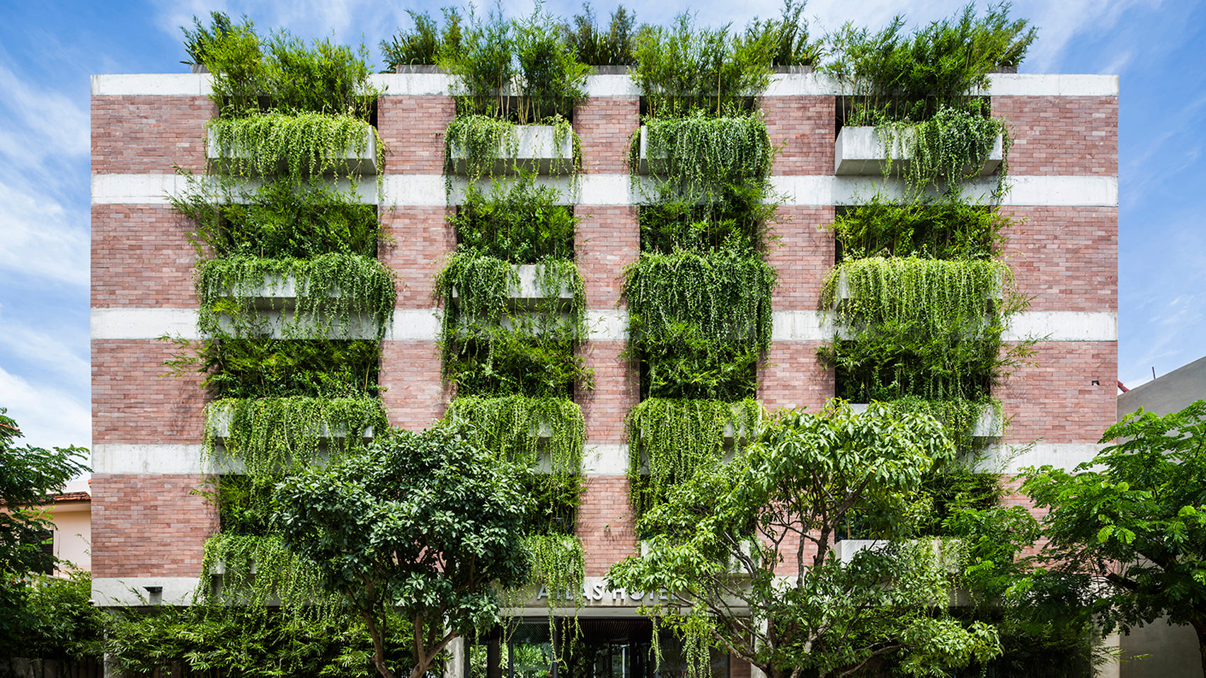 Hoi An Hotel by Vo Trong Nghia Architects