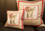 Red Neutral Elephant Cushion