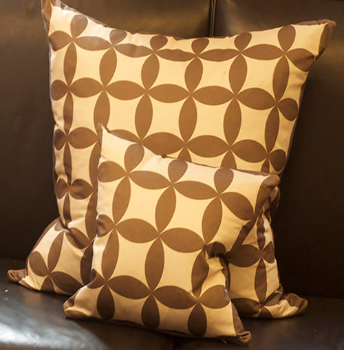 Neutral Circle Cushions