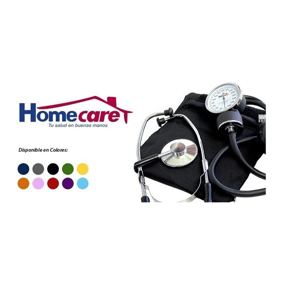 Baumanometro Con Estetoscopio Kit Simple Home Care