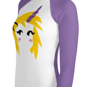 """Unicorn"" Youth Compression Shirt - Busy Body Kids"