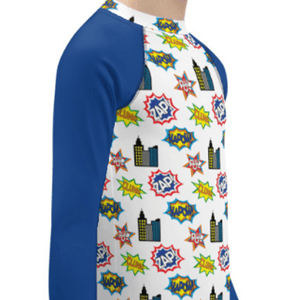 """Super Hero"" Child Compression Shirt - Busy Body Kids"