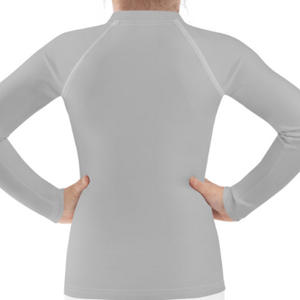 Gray Child Compression Shirt - Busy Body Kids