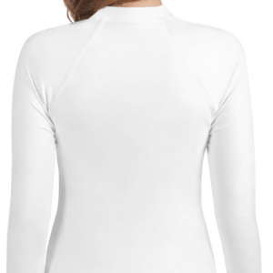 White Youth Compression Shirt - Busy Body Kids