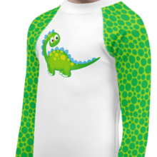 """Dino Time"" Child Compression Shirt - Busy Body Kids"
