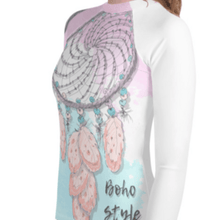 """Boho Style"" Youth Compression Shirt - Busy Body Kids"