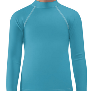 Turquoise Child Compression Shirt - Busy Body Kids