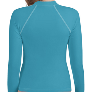 Turquoise Youth Compression Shirt - Busy Body Kids