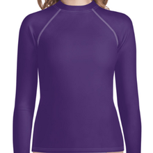 Purple Youth Compression Shirt - Busy Body Kids