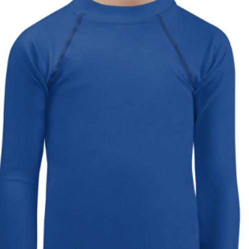 Blue Child Compression Shirt - Busy Body Kids