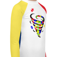 """Autism Spiral"" Youth Compression Shirt - Busy Body Kids"
