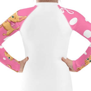 """Puppy Love"" Child Compression Shirt - Busy Body Kids"