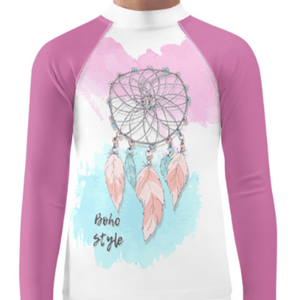 """Boho Style"" Child Compression Shirt - Busy Body Kids"