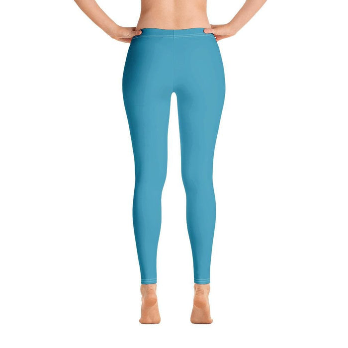 Turquoise Women's Compression Bottoms - Busy Body Kids