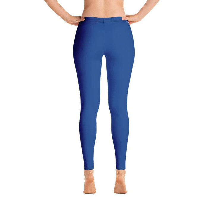 Blue Women's Compression Bottoms - Busy Body Kids