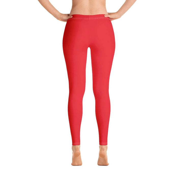 Red Women's Compression Bottoms - Busy Body Kids
