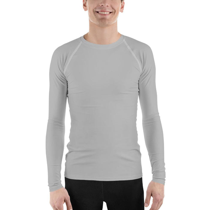 Light Gray Men's Compression Shirt - Busy Body Kids
