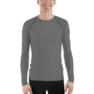 Gray Men's Compression Shirt - Busy Body Kids