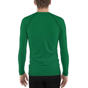 Green Men's Compression Shirt - Busy Body Kids