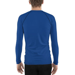 Blue Men's Compression Shirt - Busy Body Kids