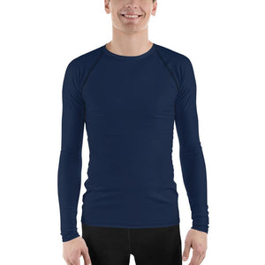 Navy Men's Compression Shirt - Busy Body Kids