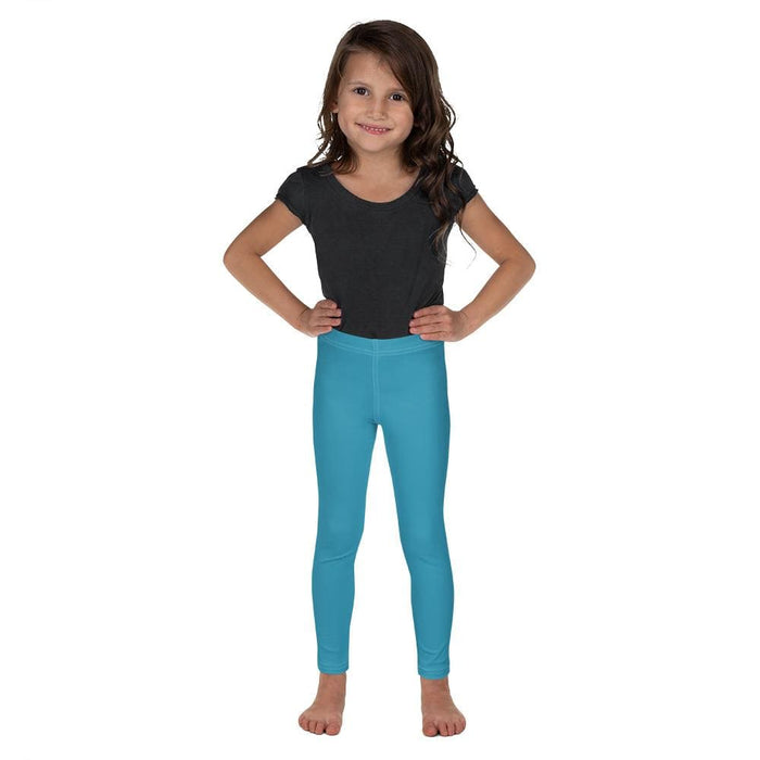 Turquoise Child Compression Bottoms - Busy Body Kids