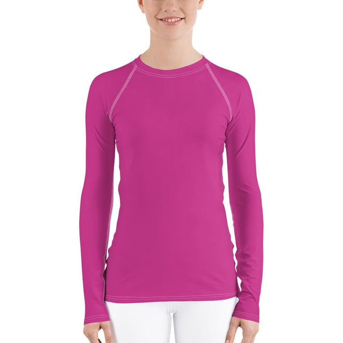 Hot Pink Women's Compression Shirt - Busy Body Kids