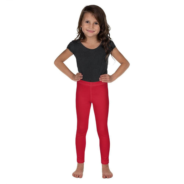 Red Child Compression Bottoms - Busy Body Kids