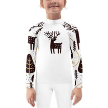 Reindeer Child Compression Shirt - Busy Body Kids