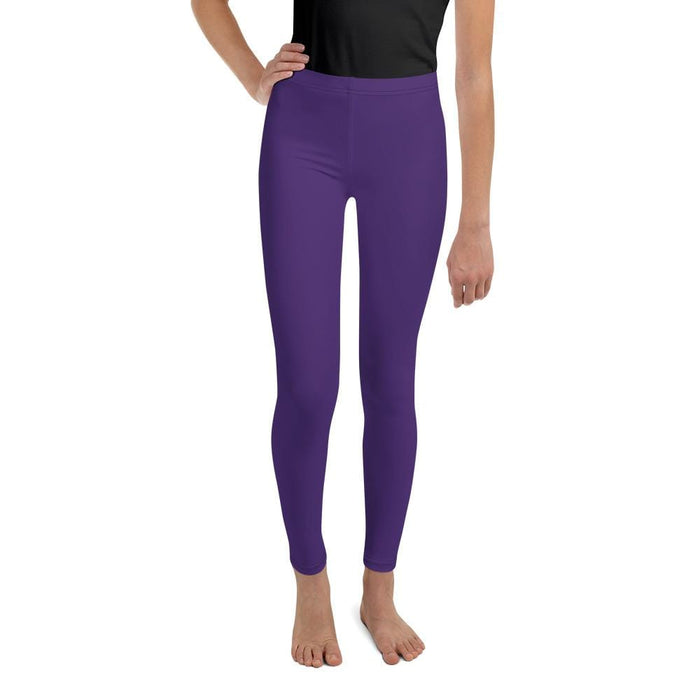Purple Youth Compression Bottoms - Busy Body Kids