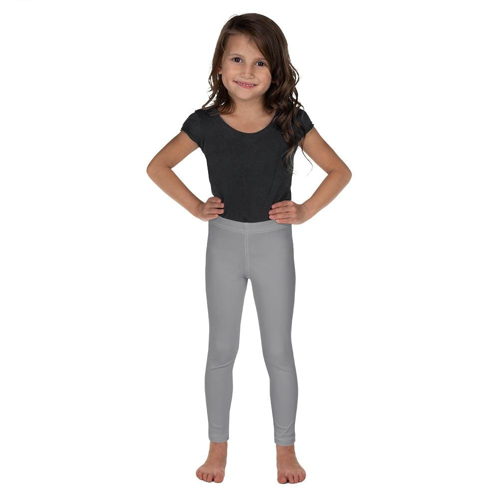 Gray Child Compression Bottoms - Busy Body Kids
