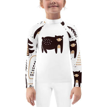 Winter Bear Child Compression Shirt - Busy Body Kids