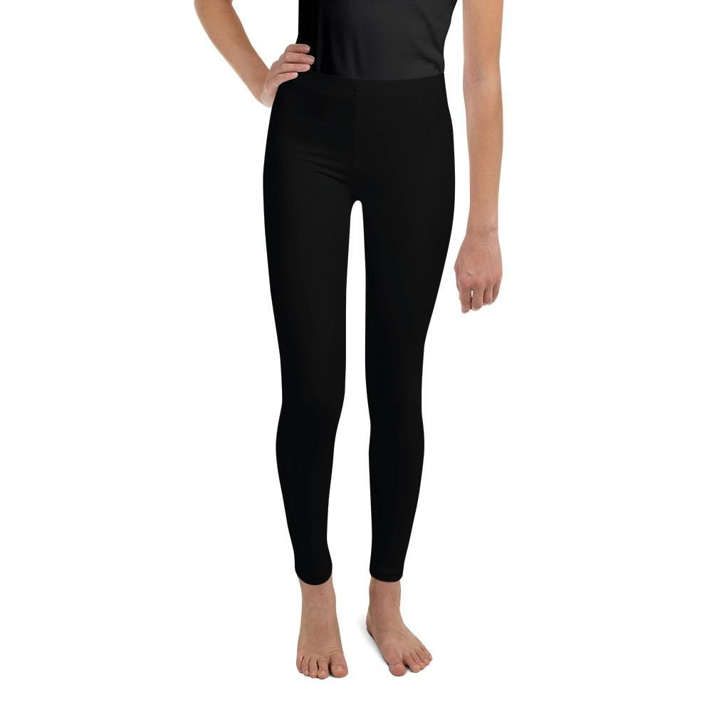 Black Youth Compression Bottoms - Busy Body Kids